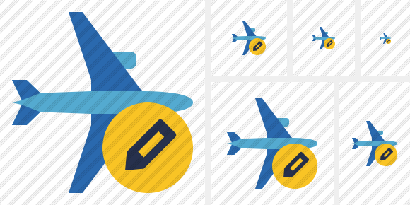 Airplane Horizontal 2 Edit Symbol