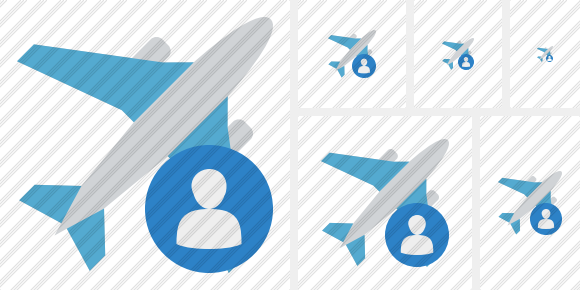 Airplane User Icon