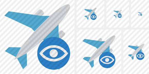 Airplane View Icon