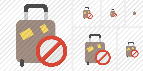 Baggage Block Icon