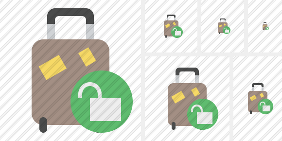 Baggage Unlock Icon