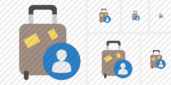 Baggage User Icon