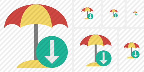 Beach Umbrella Download Symbol