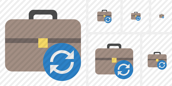 Briefcase Refresh Icon