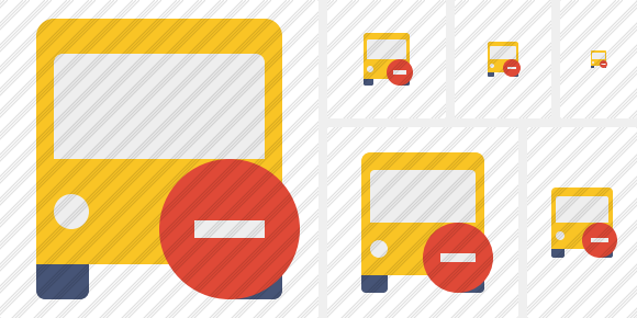 Bus 2 Stop Icon