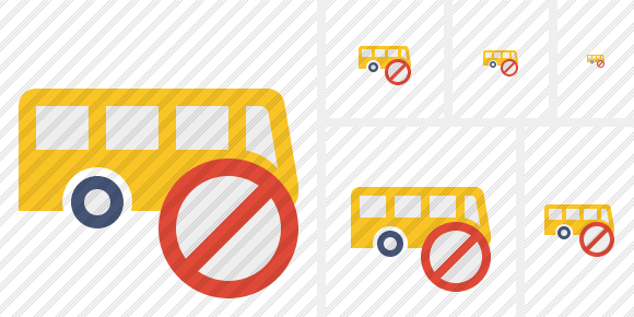Bus Block Icon
