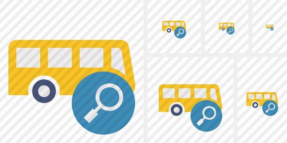 Bus Search Icon