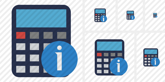 Calculator Information Icon