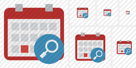 Calendar Search Icon