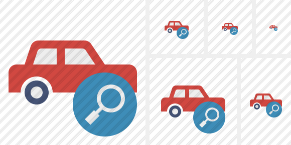 Car Search Symbol