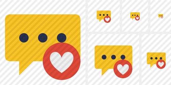 Icône Comment Favorites