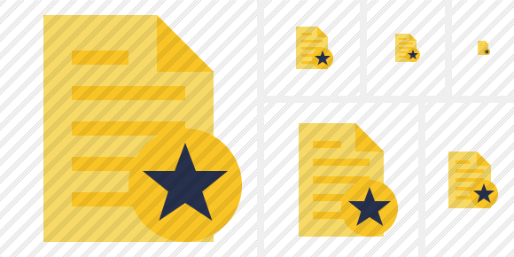 Document 2 Star Icon