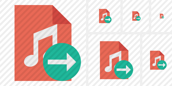 File Music Next Icon