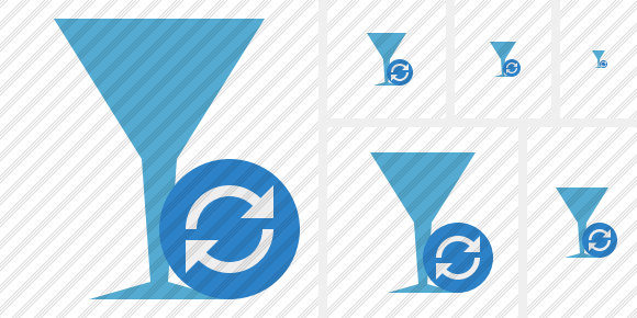 Glass Refresh Symbol