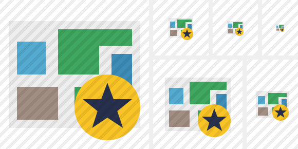 Map Star Icon