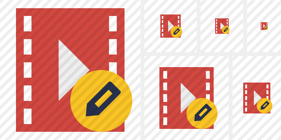 Movie Edit Symbol