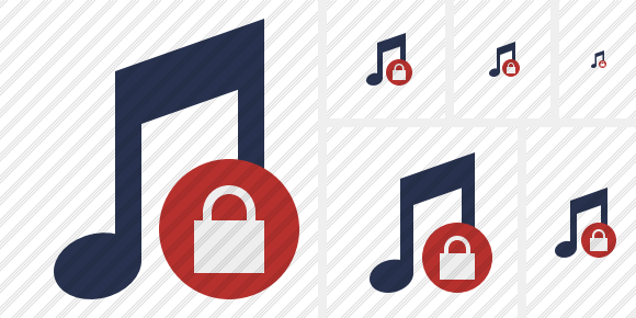 Music Lock Icon