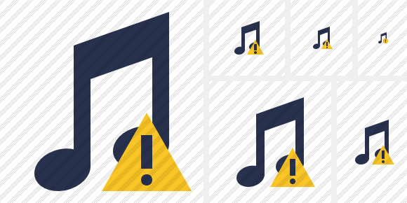 Music Warning Symbol