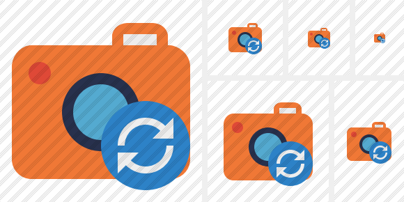 Photocamera Refresh Icon