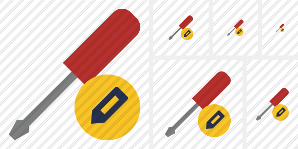 Screwdriver Edit Symbol