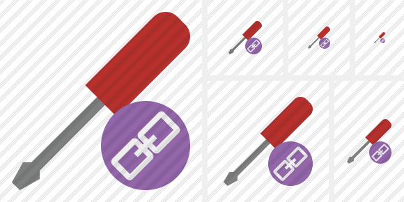 Screwdriver Link Icon