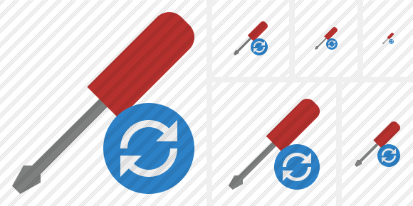 Screwdriver Refresh Icon