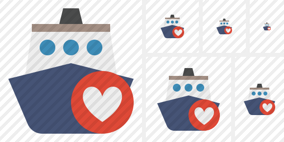 Ship 2 Favorites Symbol