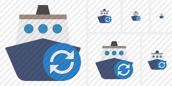 Ship 2 Refresh Icon
