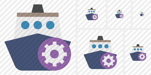 Ship 2 Settings Symbol