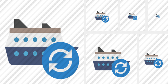 Ship Refresh Icon