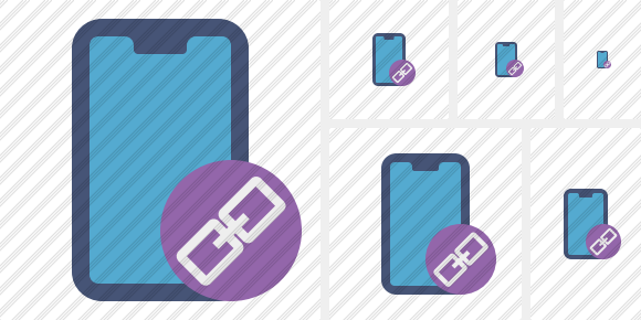 Smartphone 2 Link Icon