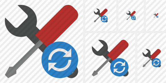 Tools Refresh Icon