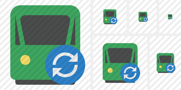 Train 2 Refresh Icon