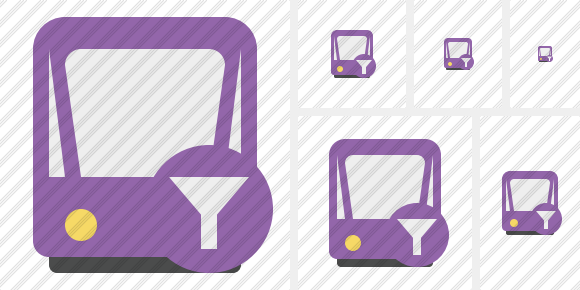 Tram 2 Filter Icon