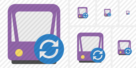 Tram 2 Refresh Icon