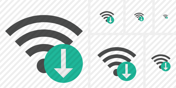 Wi Fi Download Symbol