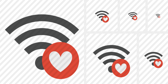 Wi Fi Favorites Symbol