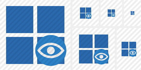 Windows View Icon