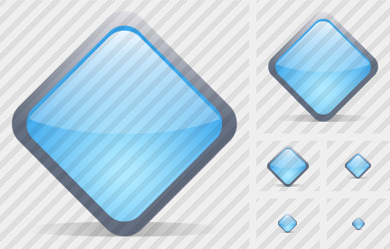 Diamond Blue Icon