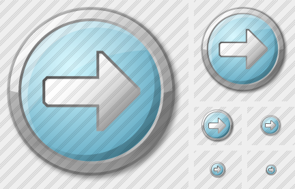 Arrow 2 Right Cyan Icon
