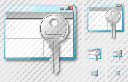 Table Key Icon
