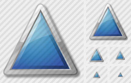 Triangle Blue Symbol