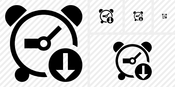 Alarm Clock Download Icon