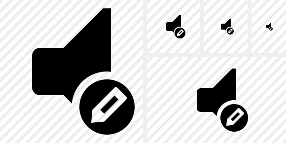 Audio Edit Symbol