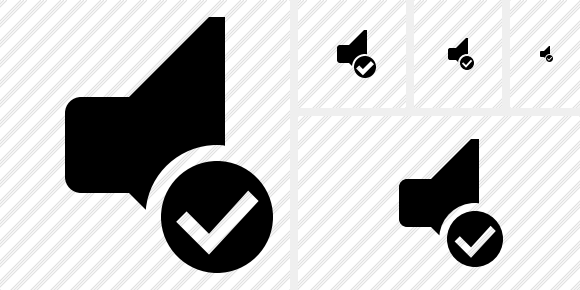 Audio Ok Icon