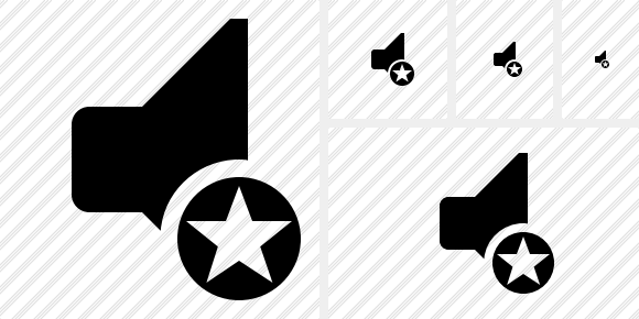 Audio Star Symbol