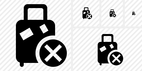 Baggage Cancel Symbol