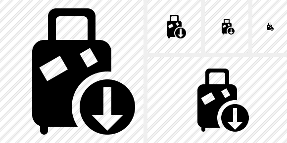Baggage Download Symbol