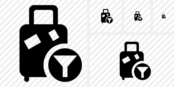 Baggage Filter Icon