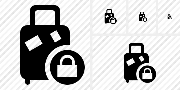 Baggage Lock Icon
